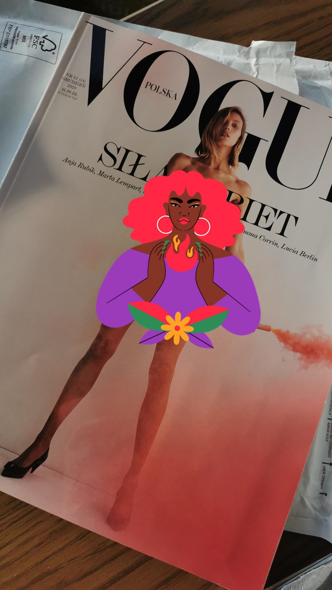 Vogue Polska – toniejest czas naerotyzm!